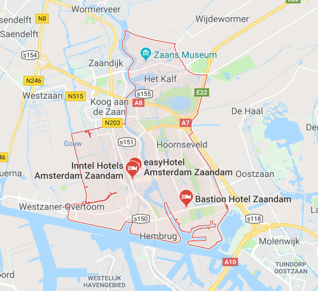 schilder in Zaandam